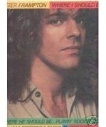 PETER FRAMPTON WHERE I SHOULD BE PROMO AD 1979 - $7.99