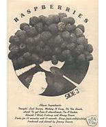 RASPBERRIES POSTER TYPE PROMO AD 1973 - $9.99