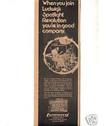 JOHN BONHAM LUDWIG DRUMS LED ZEPPELIN PROMO AD RARE1977 - $24.99