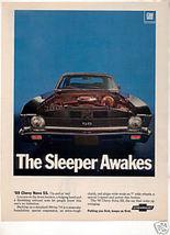 1969 Chevy Chevrolet Nova Ss Ad - $6.75