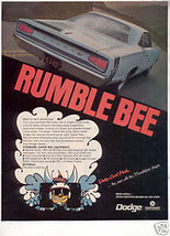 1968 Dodge CORONET/SUPER Bee Ad - $11.24