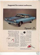 1969 PLYMOUTH GTX AD - $5.06