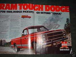 1980 Dodge Ram Pickup Truck Ad - $5.06