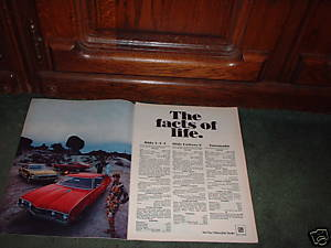 1967 1968 OLDSMOBILE 442 CUTLASS S TORONADO CAR AD