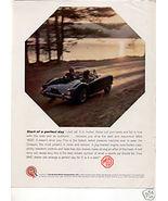 1960 MG MGA 1600 VINTAGE CAR AD - $6.79