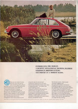 1966 1967 MG MGA/GT MGA GT VINTAGE CAR AD - $5.99