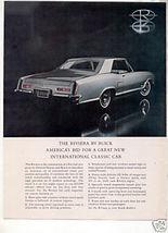 1962 1963 BUICK RIVIERA VINTAGE CAR AD - $7.99