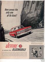 1963 OLDSMOBILE JETFIRE VINTAGE CAR AD - $7.99