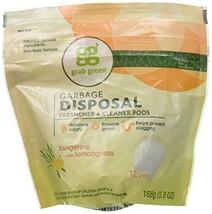 Grab Green Tangerin Garbage Disposal Clean 12 CT - $9.12