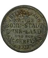 1917 5 Pfennig German Coin Bonn-Siegkreis Stadt-, Land- und Siegkreis (M... - $16.00