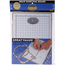"Hemp Knotting Board-11""X8.625""X.5"" - $18.74"