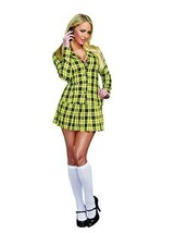 Dreamgirl Fancy School Girl Plaid Uniform Adult Womens Halloween Costume... - $54.51