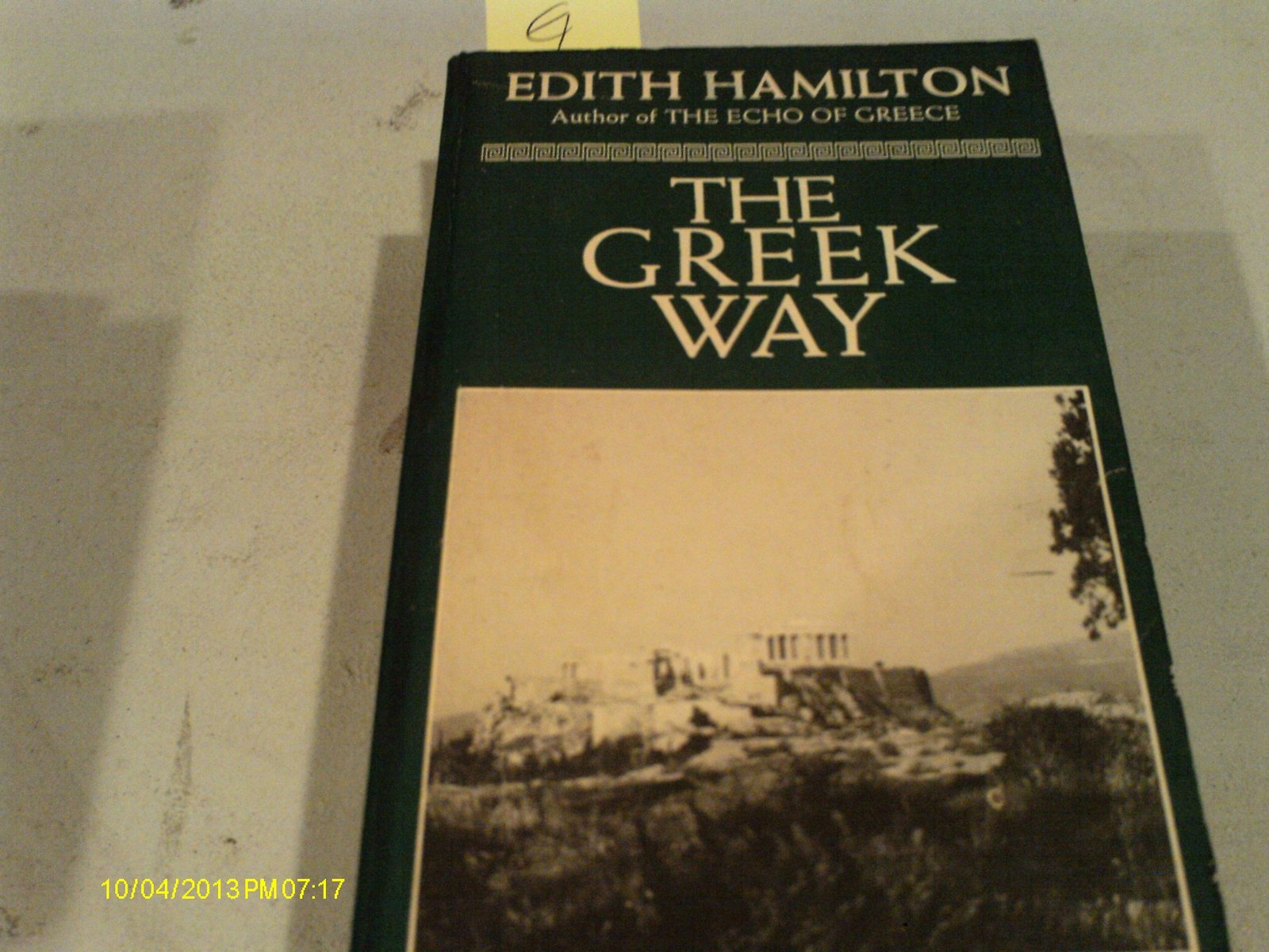 a book report on the greek way by edith hamilton Here's where you'll find analysis about the book as a whole, from the major themes and ideas to analysis of style, tone, point of view, and more  edith hamilton's.