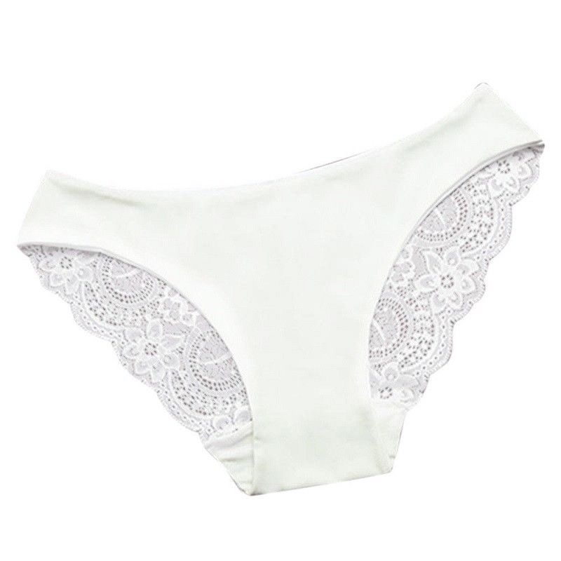 fc76a5049c5a7 Women Sexy Wings Lace Panties Briefs Underwear Elastic SIZE XL WHITE Soft  Gifts
