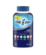 ONE A DAY MEN'S 50+ MULTIVITAMIN / MULTIMINERAL SUPPLEMENT 300 TABLETS - $25.69