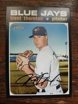x1 2020 Topps Heritage Base #294 Trent Thornton Toronto Blue Jays Card Mint  - $2.50