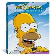 The Simpsons Complete Season 19 Nineteen DVD 2019 Brand New Sealed - $48.50