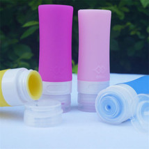 Travel Silicone Cosmetic Bottle Lotion Shampoo Bath Shower Toiletries Ge... - $48,81 MXN+