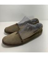 FRYE Tegan Boho Slipper Flat Oiled Suede Slip On Loafer Shoe Womens Size 10 - $39.57