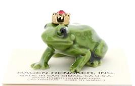 Hagen-Renaker Miniature Ceramic Frog Figurine Birthstone Prince 07 July