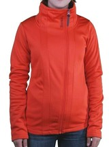 Bench Orange Galsworthy Zip Thru Warm Up Track Jacket BLEA3297-OR035 NWT