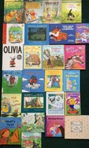 Lot Of 25 Picture Story Books For Kids Hardcover Fairy Tales Caldecott P... - $9.49
