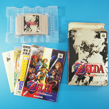 Zelda: Ocarina of Time ~ Complete in Box CIB (Nintendo 64 N64, 1998) Japan - $34.08