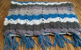 Handmade Crochet Afghan, Bedding, Bridal Gift, Throw Blanket, Shower Gift - $60.00
