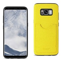 Reiko Samsung Galaxy S8/ SM Anti-Slip Texture Protector Cover With Card ... - $14.79