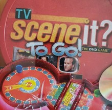 Mattel Scene it To Go The TV Trivia DVD Game Clips Favorite Shows  - $10.88
