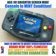 Nintendo Game Boy Advance GBA FAMICOM System AGS 101 Backlit Mod RECHARG... - $123.65+
