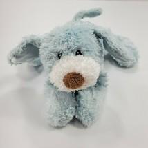 Baby Gund My First Puppy Dog Blue Satin Tummy Plush Stuffed Animal 58250 - $48.37