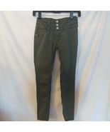 Mudd Girl's Olive Green Zipper Jeggings Girl Size 10 Jegging Pants NEW - $9.41