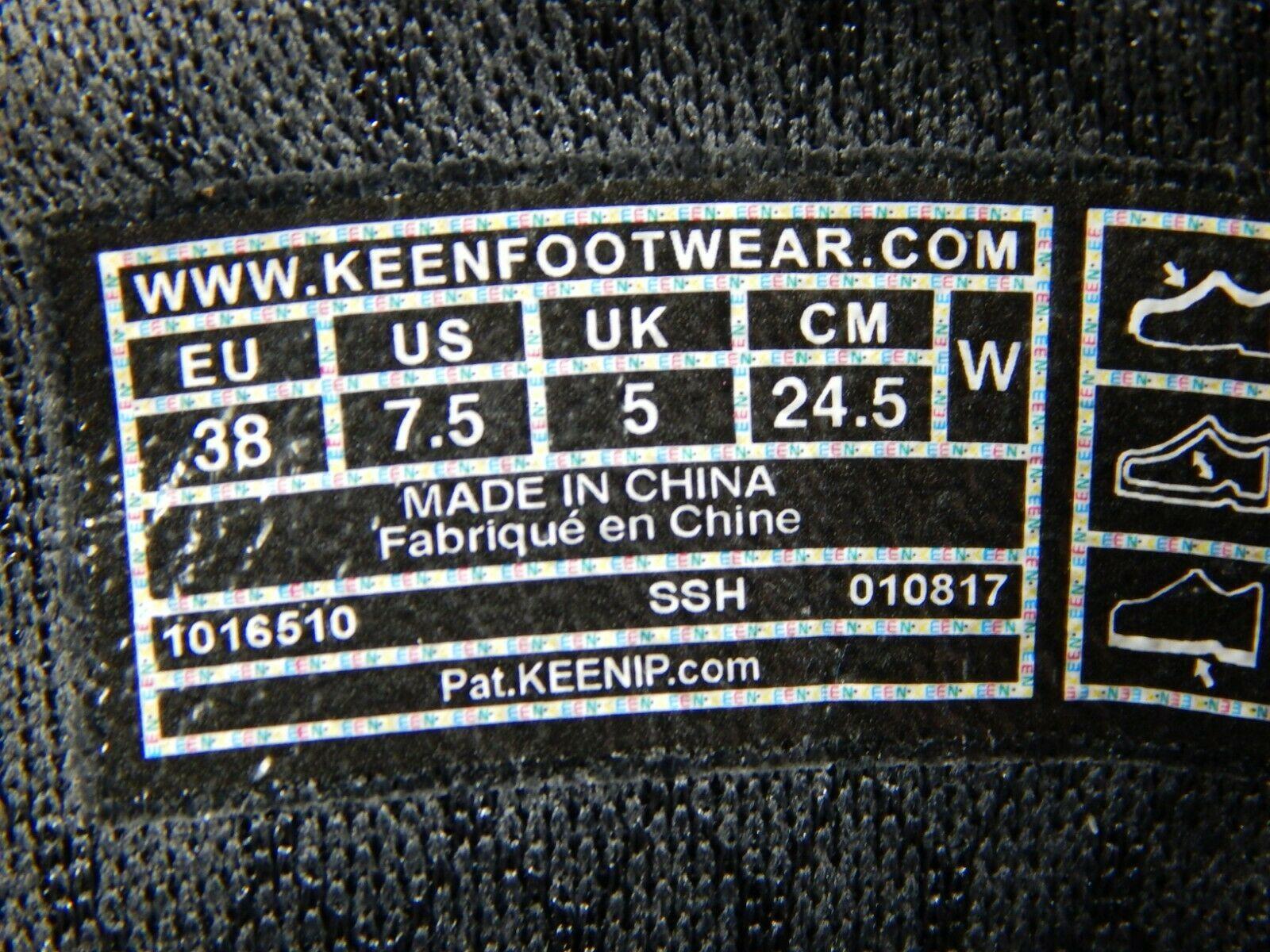 Keen Terradora Caña Baja Size 7.5M (B) Eu 38 Mujer Wp Senderismo Gris 1016505