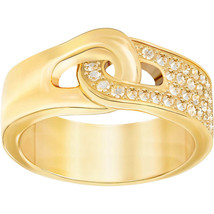 Authentic Swarovski Gallon Yellow Gold Ring - RRP $99 - $79.20