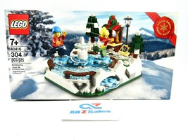 LEGO 40416 Limited Edition Ice Skating Rink 304 pcs - NEW - $28.66