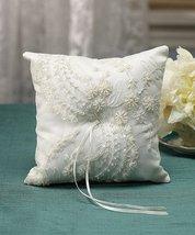 Beverly Clark Venetian Elegance Collection Ring Pillow - White - $43.58