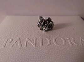 Pandora Scottie Dog Charm 791105 Sterling Silver ~ new with Pandora Pouc... - $29.69