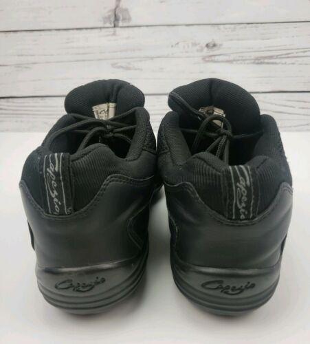 Capezio Fierce Dansneaker Split Sole Size 7 Jazz Hip Hop Shoes Black image 3
