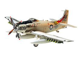 Tamiya Douglas Skyraider AD6 A1H Plastic Model Kit 61058 - $34.06