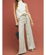 Anthropologie Windowpane Trousers Pants $140 - NWT - $62.99