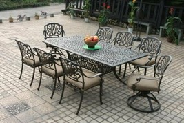 Heritage Outdoor Living 9pc Outdoor Patio Furniture Set - $3,847.14