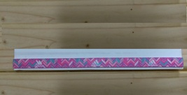 New Unisex Adidas Running HEADBAND Pink Design White Logo One Size All S... - $6.00