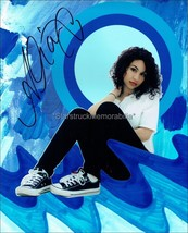 ALESSIA CARA AUTOGRAPH *KNOW-IT-ALL, FOUR PINK WALLS* HAND SIGNED 10X8 P... - $39.42
