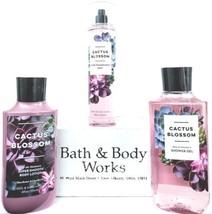 Bath & Body Works Cactus Blossom Body Lotion, Body Mist, Bath Gel Set of 3 - $30.20