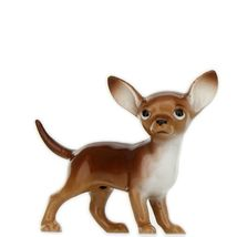Hagen Renaker Dog Chihuahua Small Brown and White Ceramic Figurine image 3