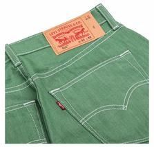 New Levi's Strauss 501 Men's Premium Shrink To Fit Straight Leg Jeans 501-2407 image 4
