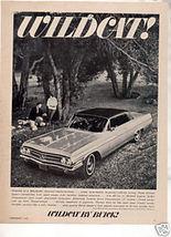 1963 BUICK WILDCAT VINTAGE CAR AD - $7.99