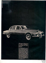 1964 1965 JAGUAR 3.8 SEDAN VINTAGE CAR AD - $7.99