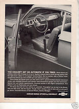 1964 CHEVY CORVAIR MONZA SPYDER CAR AD - $7.99